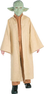Yoda Costume Boys Fancy Dress Kids Child Star Wars Licensed